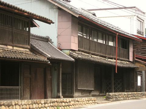 かつての旅籠「いてふ(銀杏)屋」・小野家
