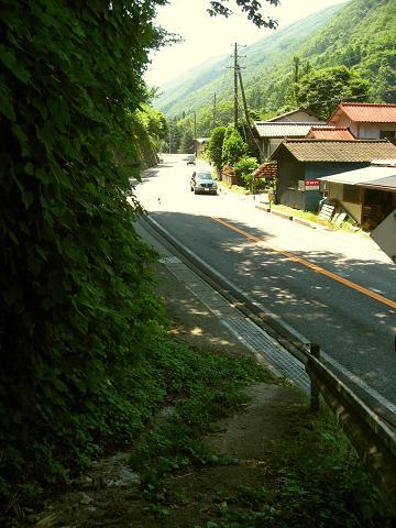 旧立場の桜沢集落