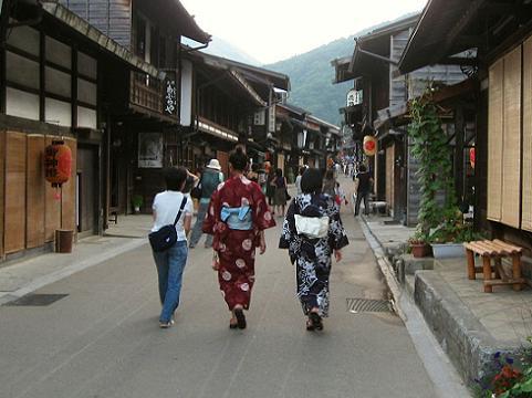 鎮神社例祭・奈良井宿にて②