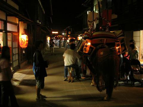 鎮神社例祭・奈良井宿にて⑥