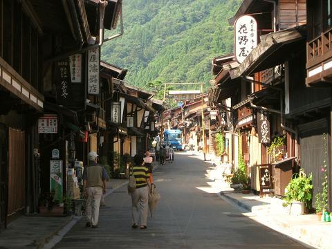 奈良井宿下町