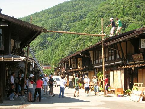 奈良井宿中町
