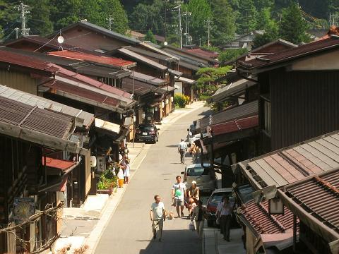 奈良井宿上町