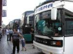アテネにイスタンブールからバスで向かう。イスタンブールのバスターミナル「オトガル」