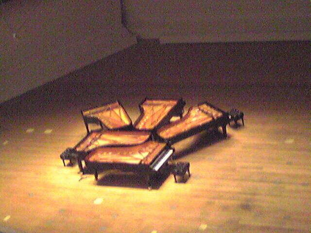ピアノ配置