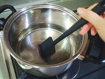 シロップを作り