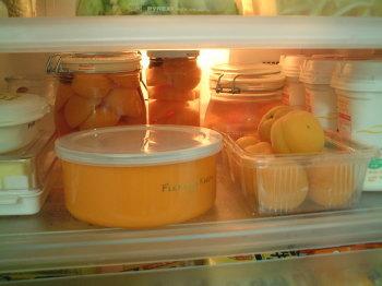 粗熱が取れたら冷蔵庫で保管