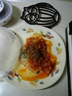 カワウソおねぇちゃんの晩御飯...