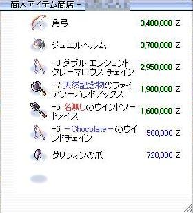 チョコさん銘消えてない(σ・∀・)σYO!!