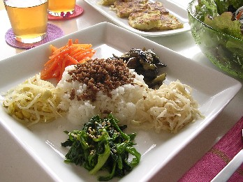 5品目野菜のナムル