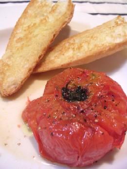 丸ごと焼きトマト