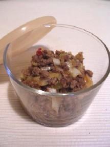 ピリ辛ひき肉は多めに作って冷凍保存