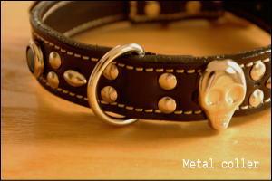 メタルな首輪