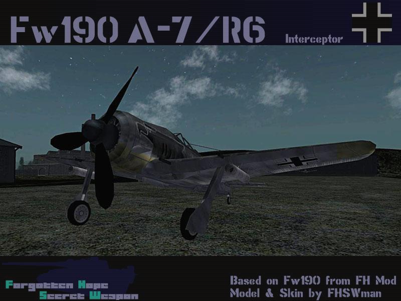 Fw190A7R6