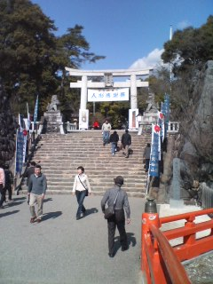 武田神社。