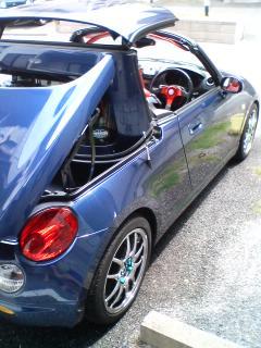 洗車後・・・・