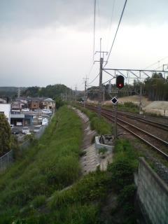 駅からの眺め!!