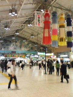 ああ上野駅!!(笑)