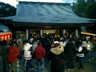 氷川神社本堂