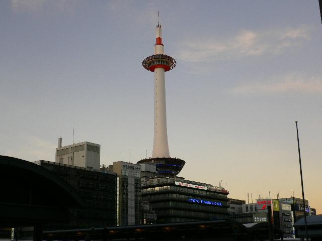 京都タワー!