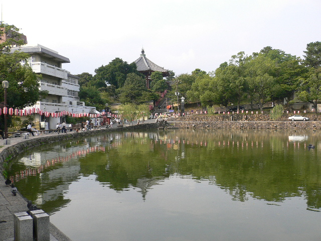 猿沢池。。