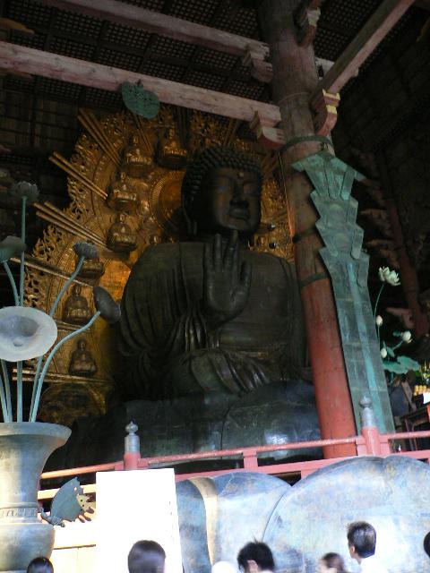 まさに奈良の大仏です!!