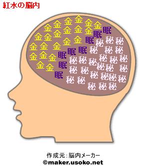 紅水の脳内