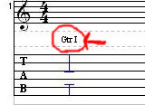ギター挿入設定1