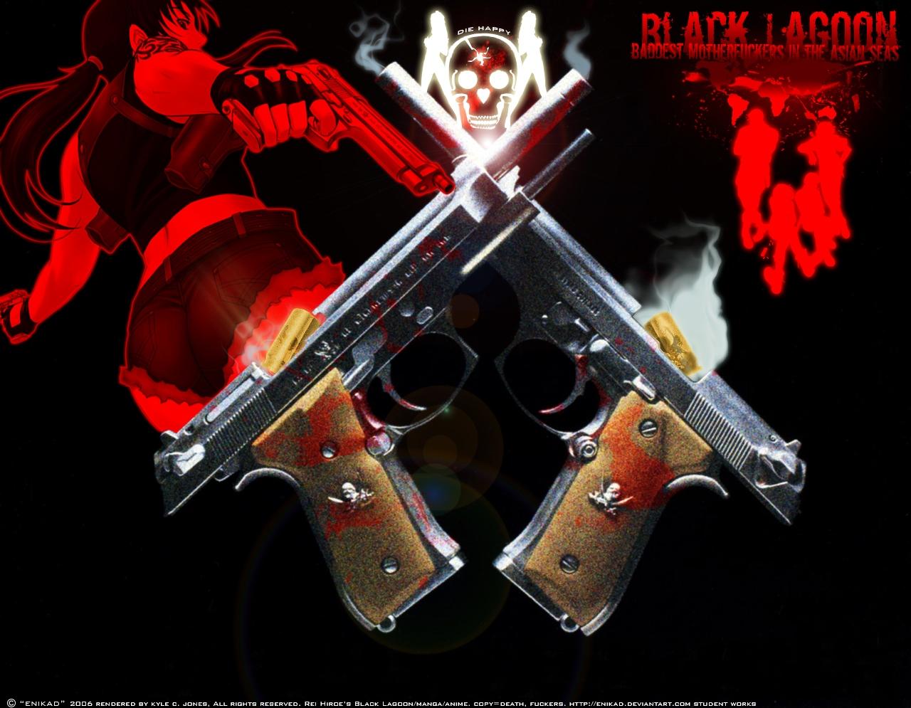 ブラックラグーン拳銃
