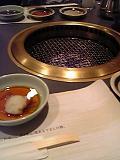 牛庵の焼肉。食べる前。