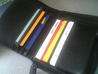 財布の中身。