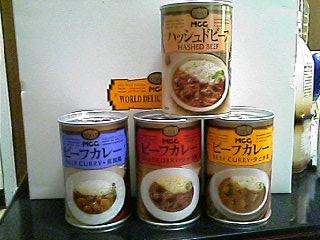 缶詰カレー